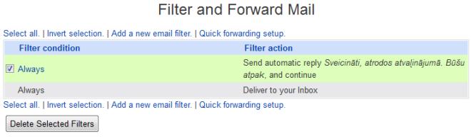 Usermin delete filter
